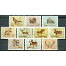 1964 Hungary Mi.2079-2088 Fauna 6,00 €