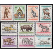 1961 Hungary Mi.1727-1736 Fauna 10,00 €