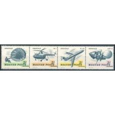 1967 Hungary Mi.2351-2354Strip Luna 12 6,00 €
