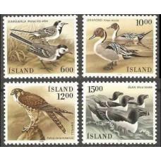 1986 Iceland Mi.644-647 Birds 4.00 €