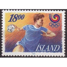 1988 Iceland Mi.688 1988 Olympiad Seoul 1.00 €