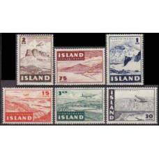 1947 Iceland Mi.241-246 Planes 4,00 €