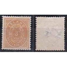 1882 Iceland Michel 12A(*) 50.00 €