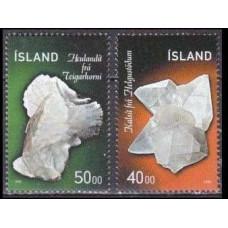 1999 Iceland Mi.917-918 Minerals 3,00