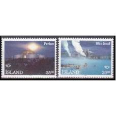 1993 Iceland Mi.784-785 Landscape 2,50