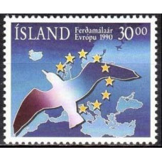 1990 Iceland Mi.730 Mi.Europa 1,50
