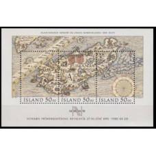 1991 Iceland Mi.744-46/B12 NORDIA - 91 10,00 €