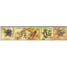 2009 India Michel ? 5v Flora 1.60 €