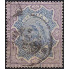 1895 Indien Michel 47 used Victoria 36.00 €