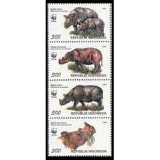 1996 Indonesia Mi.1648-1651 WWF 2,00 €