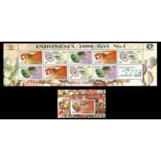 1997 Indonesia Mi.1695-97KL+B120 I Precious stones 15,00 €