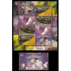 1998 Indonesia Mi.1804KL+B132 Precious stones 20,50 €