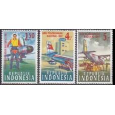 1967 Indonesia Mi.578-580 Planes 1,80 €