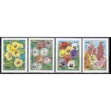 1989 Iraq Mi.1482-85 Flowers 5,00 €