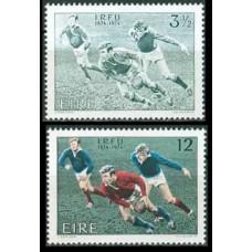 1974 Ireland (EIRE) Mi.307-308 Rugby 3.50 €