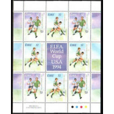 1994 Ireland (EIRE) Michel 857-858KL 1994 World championship on football of USA 8.50 €