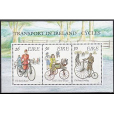 1991 Ireland (EIRE) Mi.746-748/B8 Transport 4,00 €
