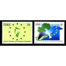 1990 Ireland (EIRE) Mi.698-699 Europa 2,50
