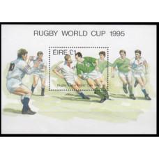 1995 Ireland (EIRE) Mi.896/B16 Rugby 4,00 €