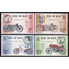1975 Isle of Man Mi.60-63 Motorcycles 1,20 €