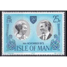1973 Isle of Man Mi.35 Princess Anne 1,20 €