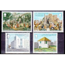 1977 Isle of Man Mi.101-104 Architecture 1,20 €