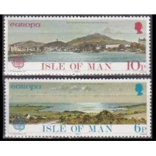 1977 Isle of Man Mi.95-96 Europa 0,80 €