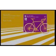2012 Isle of Man Mi.1750/B82 2012 Olympiad London 7,50