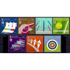 2012 Isle of Man Mi.1743-1749 2012 Olympiad London 12,00