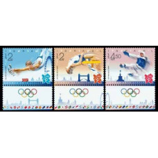 2012 Israel Mi.?3v 2012 Olympics in London €