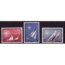 1965 Italy Mi.1181-1183 Ships with sails 1.00 €