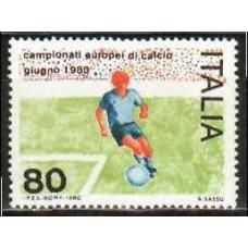 1980 Italy Michel 1693** EVRO-1980 2.20 €