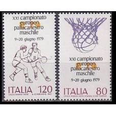 1979 Italy Mi.1662-1663 Basketball 0,70 €