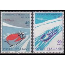 1966 Italy Mi.1196-1197 Wintersport