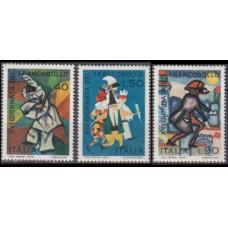 1974 Italy Mi.1473-1475 Paintings