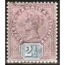 1891 Jamaica Mi.27* Victoria 7.00