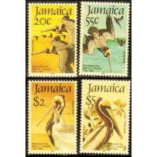 1985 Jamaica Mi.603-606 Audubon 15,00