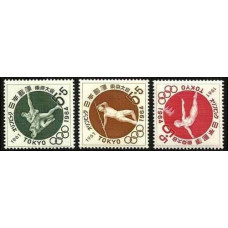 1961 Japan Mi.777-79 1964 Olympics Tokyo 3,80 €