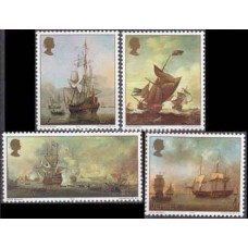1974 Jersey Mi.110-113 Ships with sails 1,50 €