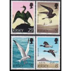 1975 Jersey Mi.123-126 Sea birds 1,50 €