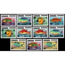 1974 Jordan Mi.896-906 Sea fauna 26.00 €