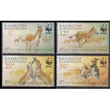 2001 Kazakstan Mi.345-48 WWF 5,00 €