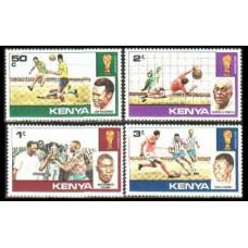 1978 Kenya Mi.111-114 1978 World championship on football of Argentina 2,40 €