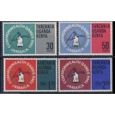 1966 Kenya,Uganda,Tanzania Mi.152-155 Sport 1,00