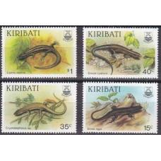 1986 Kiribati Mi.480-483 Reptiles 8,00 €
