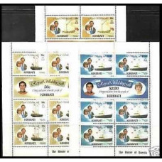 1981 Kiribati Michel 371-376KL Diana 20.00 €