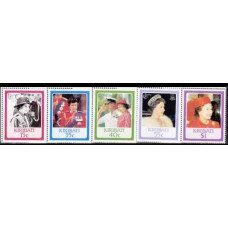 1986 Kiribati Mi.470-474 Elizabet II 5,00 €