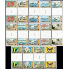 1979 Kiribati Mi.322-335x2 Definitives, = 1976 Def Gilbert Is 24,00 €