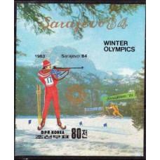 1983 Korea, North Mi.2390/B149b 1984 Olympiad Sarajevo 16,00 €