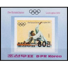 1983 Korea, North Mi.2354/B142b 1984 Olympiad Los Angeles 15,00 €